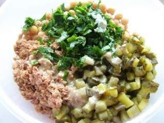 Salata cu ton si naut, Rețetă Petitchef