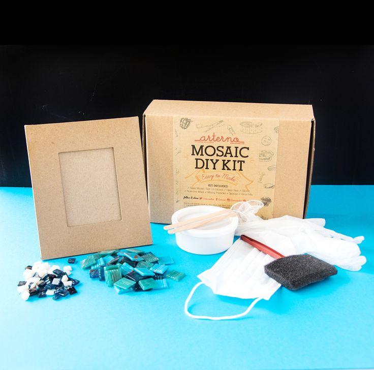 http://arterno.com/shop/diy-mosaic-kit/  Do It Yourself Mosaic Frame Kit