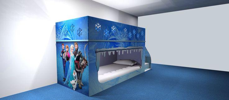 Frozen bunk bed