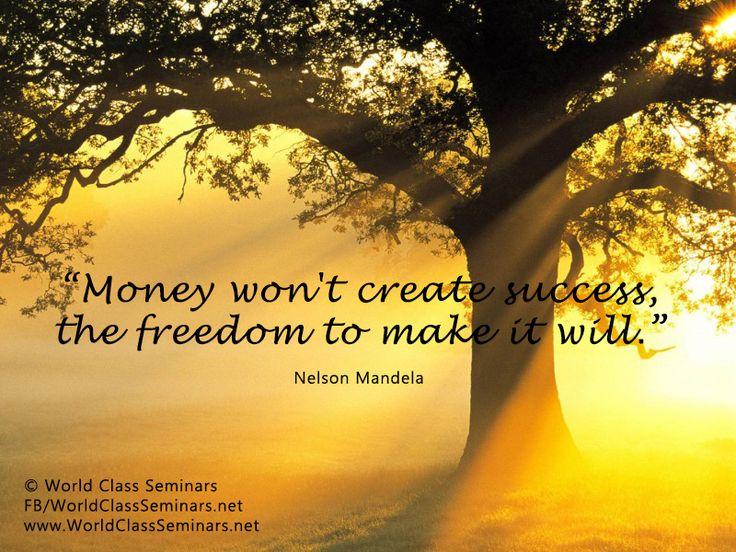 Attractive Money Wonu0027t Create Success The Freedom To Make It Will U2013 Nelson Mandela.  Beautiful SunsetBeautiful Nature WallpaperBeautiful ...