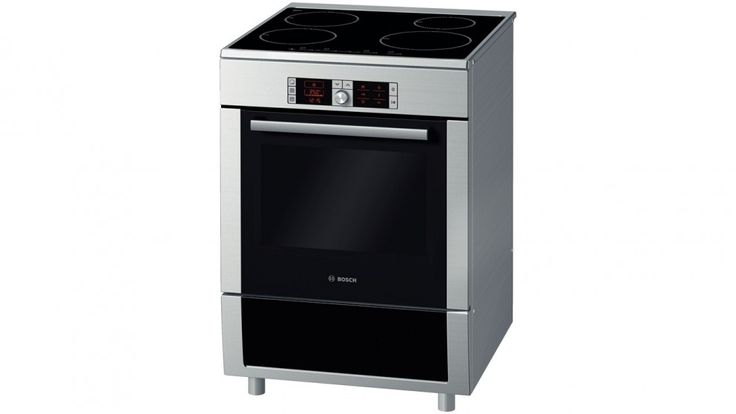 Bosch 60cm Electric Induction Freestanding Cooker - Stainless Steel - Freestanding Cookers - Appliances - Kitchen Appliances | Harvey Norman Australia