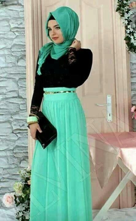 lovely hijab .