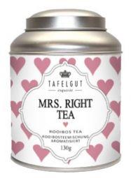 Tafelgut Mrs. Right Tea, Roibosteemischung Vanille www.bellissimo-webshop.de