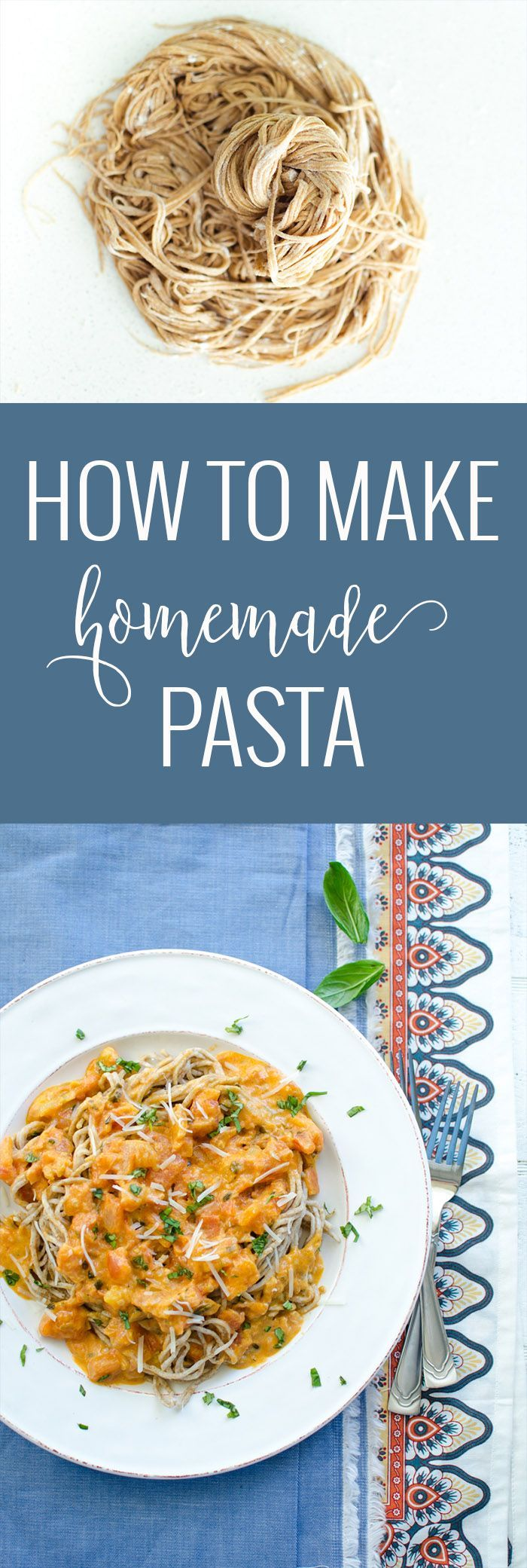 Homemade Pasta Recipe | how to make homemade pasta | easy homemade pasta recipe | homemade pasta recipes | how to use the kitchenaid pasta attachment | kitchenaid pasta recipes | how to make fresh pasta || Oh So Delicioso