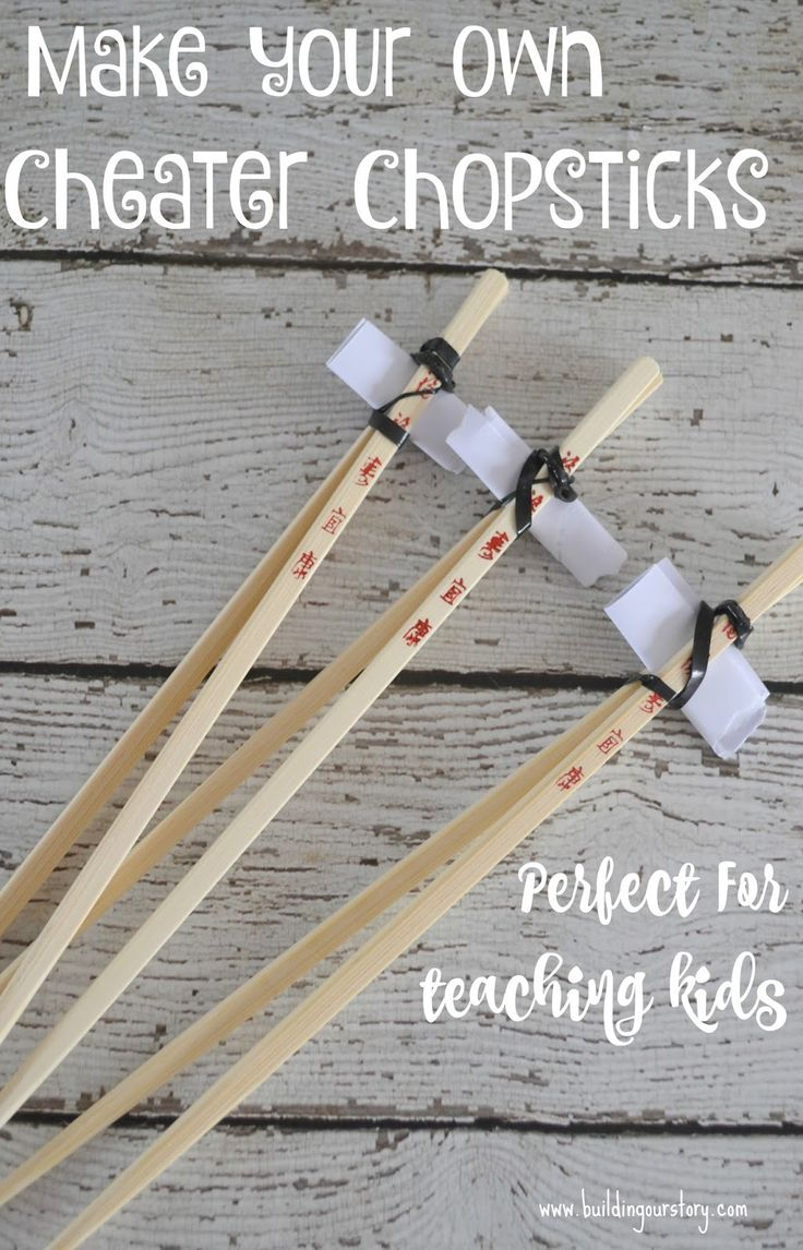 DIY cheater chopsticks for kids, chopsticks for kids, DIY chopsticks for kids, Asian food at home, Asian food recipes, take out at home, Innovasian rewards, tips on teaching kids to use chopsticks #NoTakeOutNeeded #collectivebias