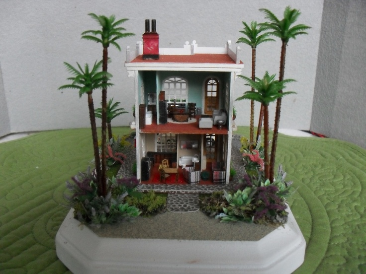#Miniature #Beach #Dollshouse