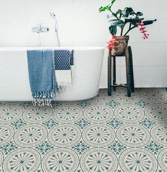 Tile Decals Tiles For Kitchen Bathroom Back Splash Floor Decals Hand Painted Italian Chiave Vinyl Tile Sticker Pack Colo Interior Salon Astrologi Stensil