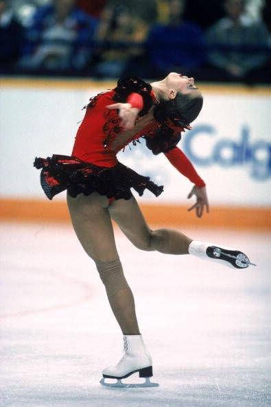 Two Time Olympic Figure Skating Champion Katarina Witt