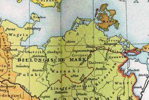 Zu Zeiten der Slawen gehörte Woosmer zum Polabi Reich!