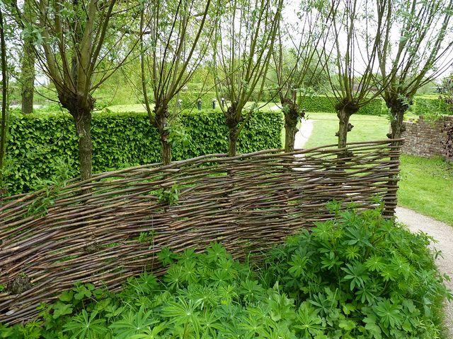 "weaving a barrier in the ""courtyard"" might be a fun idea... Afscheiding - Wilgentenen by _Luc1992, via Flickr"