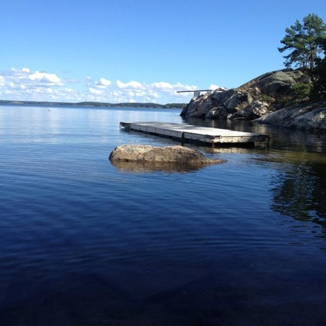 Dalarö - part of the Swedish archipelago.