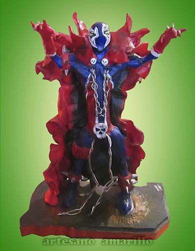 #spawn #figura #escultura en #porcelanicron