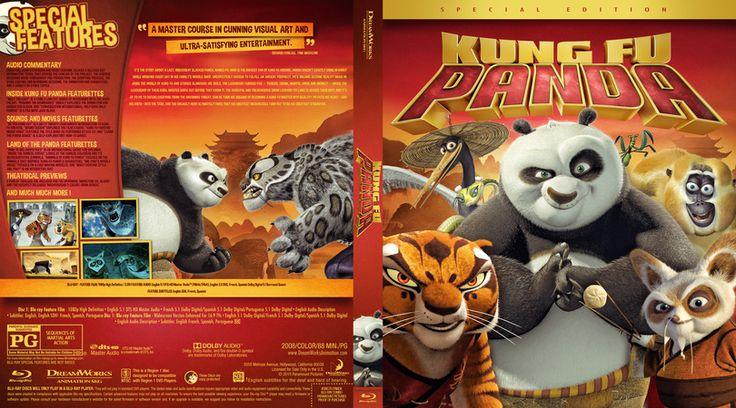 Kung Fu Panda Blu-ray Cover
