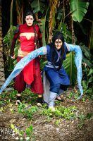 P'li and Ming Hua cosplay by MajinNeda