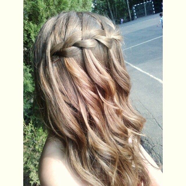 The inevitable braid <3 #braid #hairbraid #hair #hairlove #hairaddict #hairfashion #ilovemyhair #cute #fabulous #lovely #happiness #fashion #me #metoday #f4f #fff #crimp #wavy #hairstyle #hairselfie