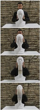 Li Hongbo's paper sculptures stretch the imagination - Yahoo News
