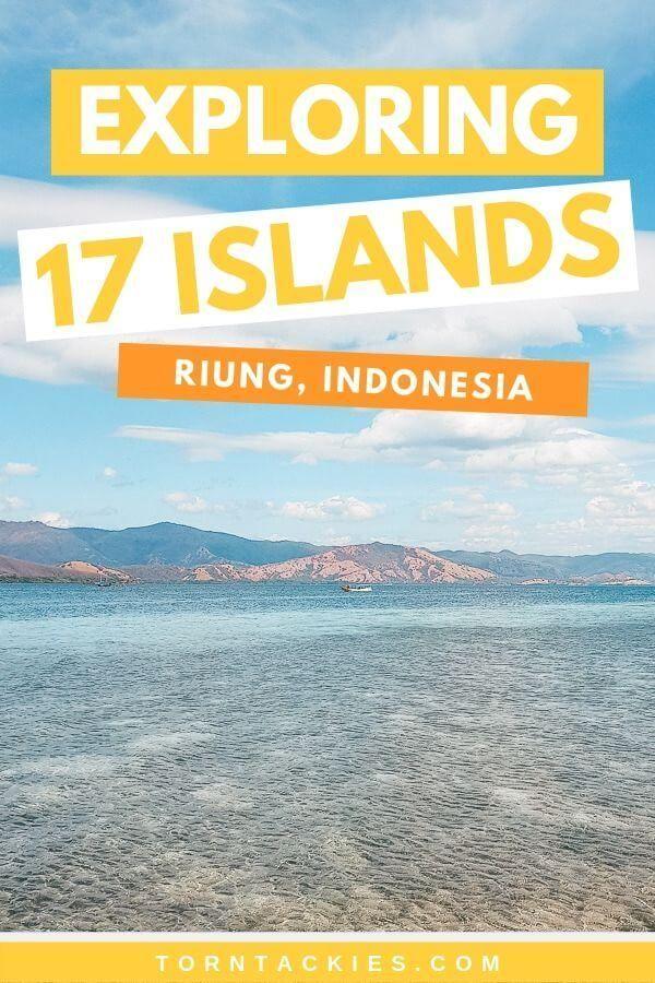 Exploring 17 Islands Marine Park in Riung, Flores