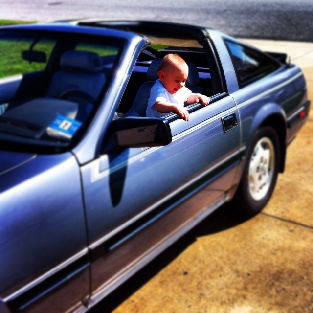 1984 Nissan 300ZX for sale! Great condition! Baby not included. Ask me for details!