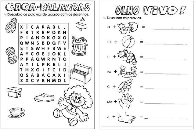 246 Atividades De Alfabetizacao Para Educacao Infantil Em Pdf Em