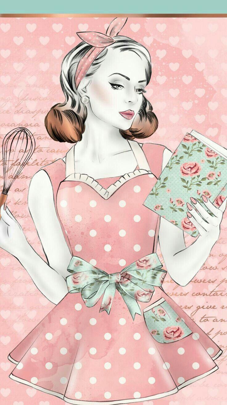 Iphone Wallpaper Girly Pretty Apron Girly Art