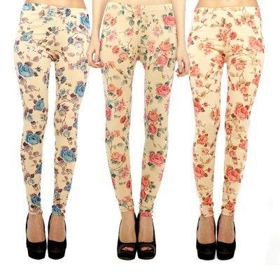 Blumen-Leggings 7,99 €