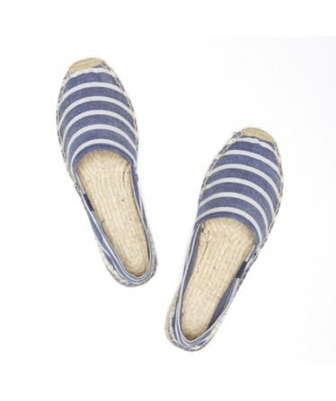 how to clean canvas espadrilles