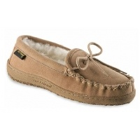 Old Friend Slippers Womens Loafer Moccasin - Chestnut