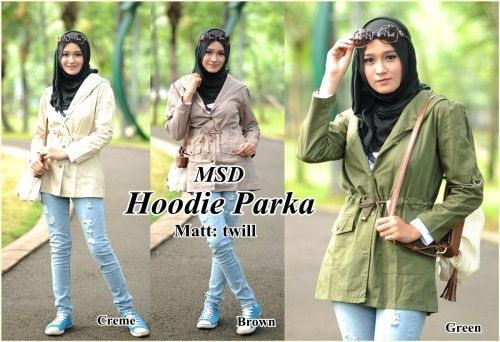 Adesina Hoodie Parka Outer