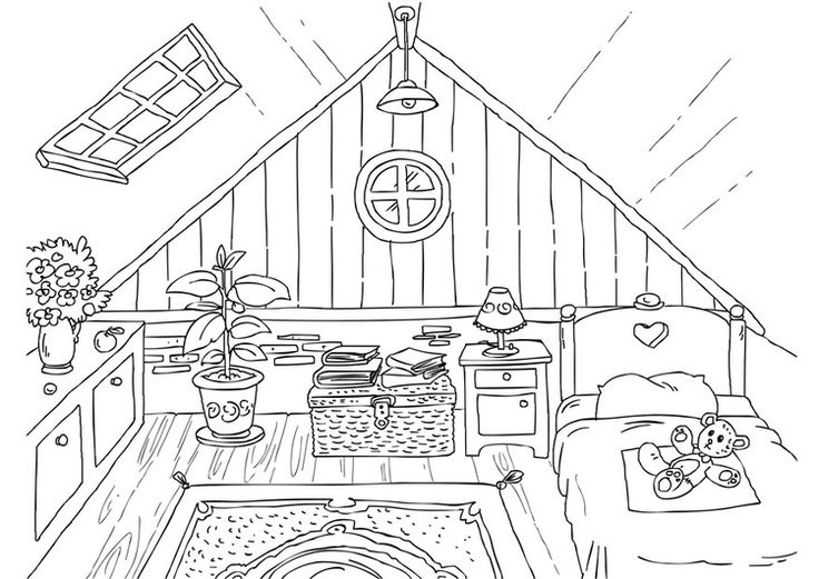 103 best images about interior room art  Colouring Pages on