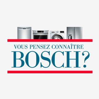 #VouspensezconnaîtreBosch? Prouvez-le-nous et vous pourriez GAGNER un lave-vaisselle Bosch! Participez ici : http://www.bosch-home.ca/fr/think-you-know-bosch-contest.html