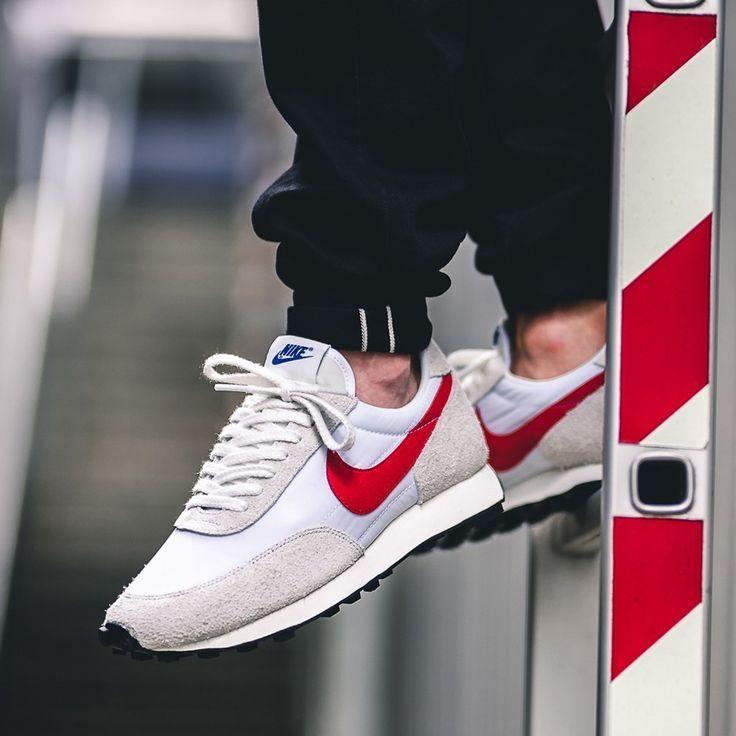 Release Date : June 22, 2019 Nike Daybreak SP White / Red ...