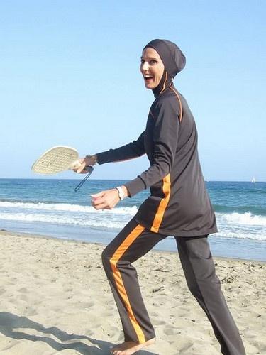 Islamic Modest Swimwear loose fit.