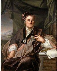 """Christopher Polhem 1661-12-18 - 1751-08-30 """"Den svenska mekanikens fader"""" Uppfinnare. Polhems mekaniska alfabet, Polhemsknuten (en kardanknut) Polhlmslåset, Polhemshjul, sammanlagt uppfann och konstruerade han över 100 sakar."""