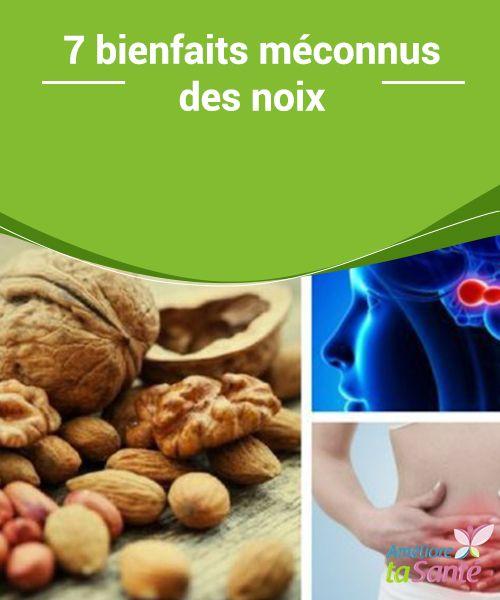 7 bienfaits #méconnus des noix    Les noix font partie des #fruits secs qui ont le plus de #propriétés etqui peuvent apporter le plus de #bienfaits à la santé. Elles sont riches en protéines, en graisses saines, en fibres, en stérols naturels, en antioxydants, en vitamines et en minéraux. Sans aucun doute, des #ingrédients qui sont plus que suffisants pour …