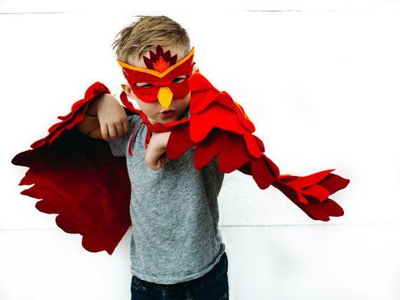 phoenix costume for kids bright firebird costume for kids to dress up like the phoenix bird phoenix mask and wing costume for halloween - Halloween Costumes In Phoenix