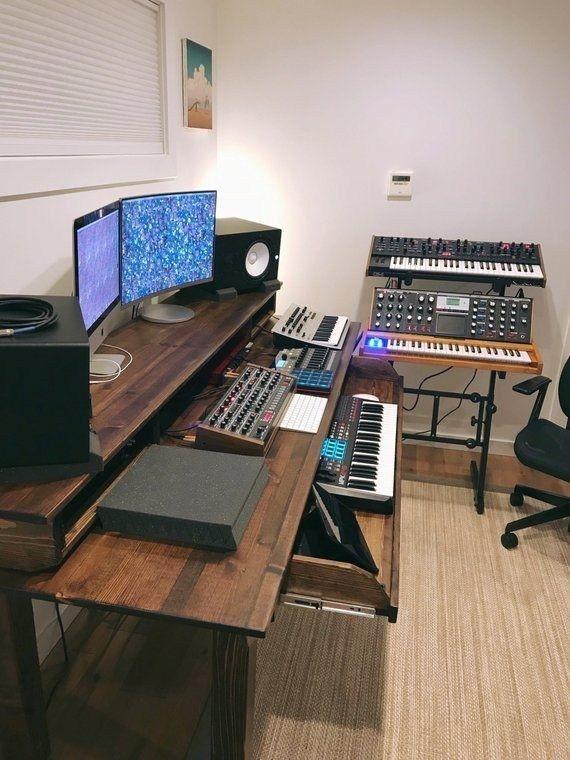 Desk Design Ideas Home Studio Desk Recording Studio Desk Studio Desk