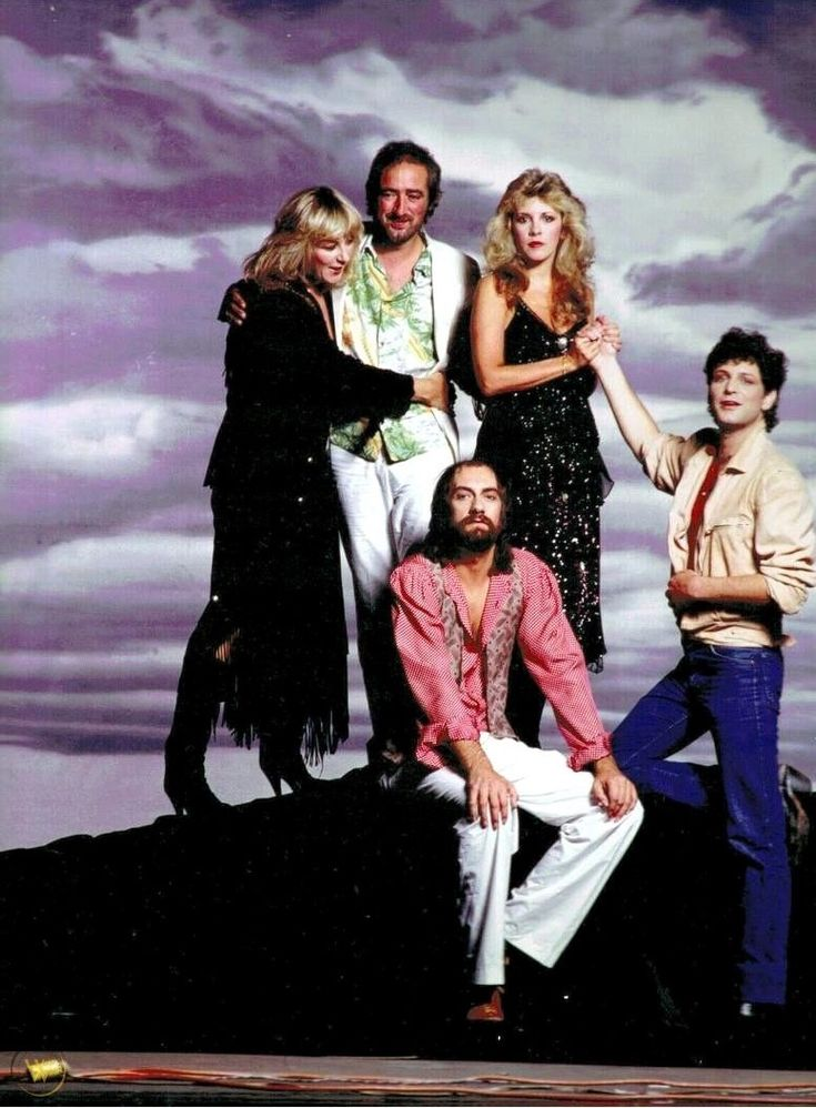 """Fleetwood Mac photographed by Jim Shea 1982. "" Stevie"