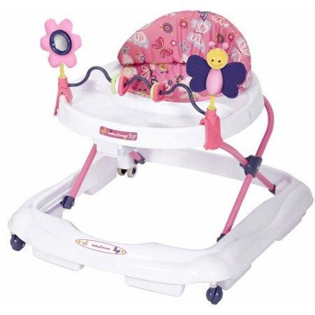 Baby Walker Emily Trend Activity Toddler Toy Toys New Pink Adjustable Height Tray Infants Food Free Shipping Padded Seat Removable