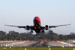 TWA-0003367 © WestPix General -  planes taking off at Perth airport