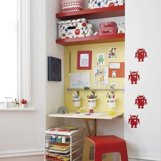 Child's work area | Children's rooms | Design ideas | Image | Housetohome