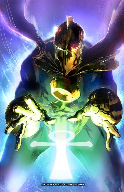 Dr. Fate  ♥ ♥ Please feel free to repin ♥♥  http://unocollectibles.com