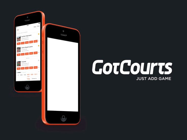 GotCourts - Mobile App for Tennis Players by Stefan B. Aleksić