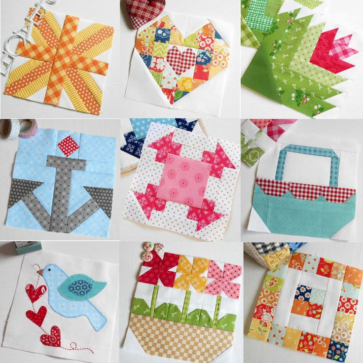 The Patchsmith's Sampler Quilt Blocks pattern book is jammed packed full of fabric fun.