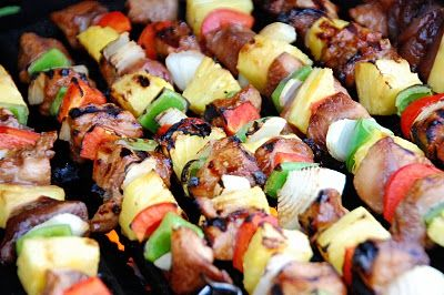 kabobsFood, Baking Chicken Kabobs Recipe, Teriyaki Chicken Kabobs, Baking Kabobs, Teriyaki Kabobs, Chicken Pineapple, Pineapple Kabobs, Favorite Recipe, Barefoot