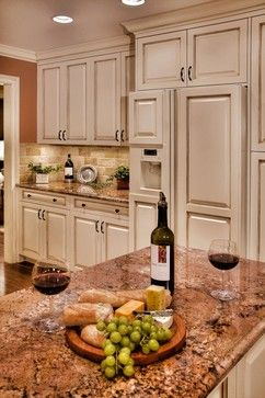 Paramount Granite Company traditional kitchen - I love the backsplash