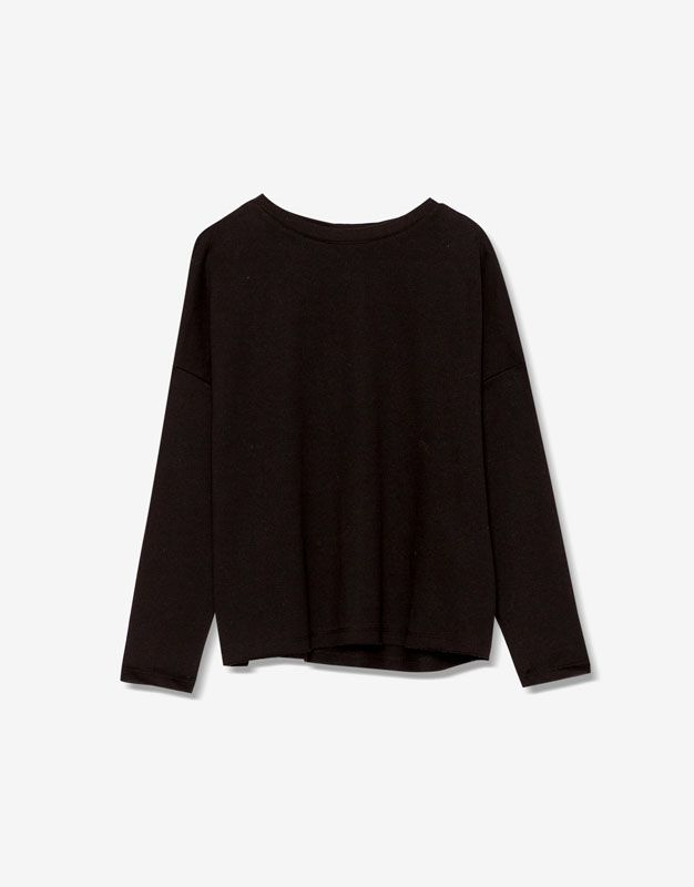 Piped seam sweatshirt - Sweatshirts - Clothing - Woman - PULL&BEAR United Kingdom