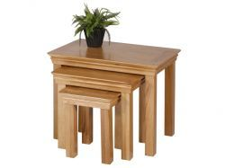 New Haven Oak Nest of Tables is finished amazingly beautiful and make you a comfortable. More info: http://solidwoodfurniture.co/product-details-oak-furnitures-3416--new-haven-oak-nest-of-tables.html