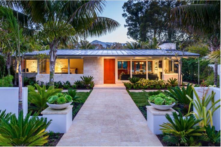 bonita casa moderna con porche