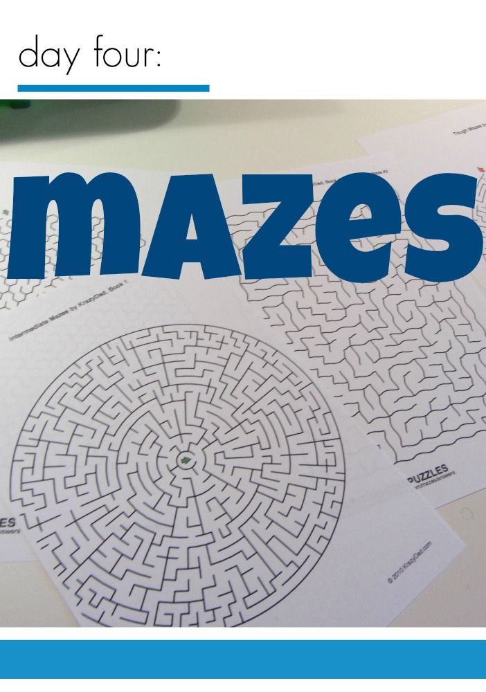 tabletop surprises mazes --> we are HUGE maze fans over here. . . are your kids?
