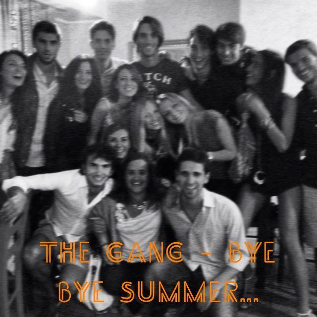 The GANG - bye bye summer www.aspecialpolpetta.it